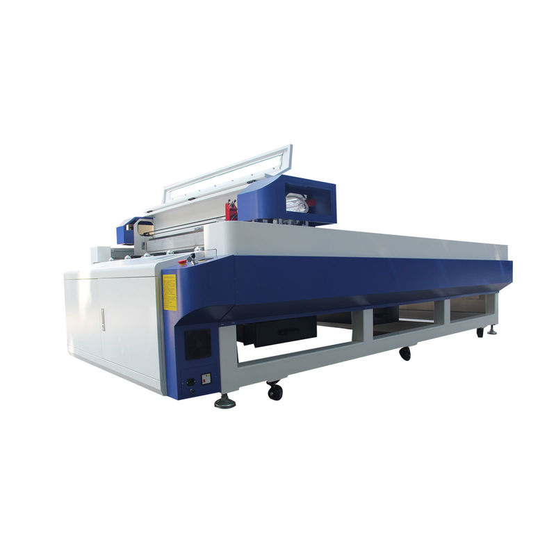 1325 Flatbed CNC CO2 Laser Cutting Machine 150w For Glass / Crystal / Wood / Foam