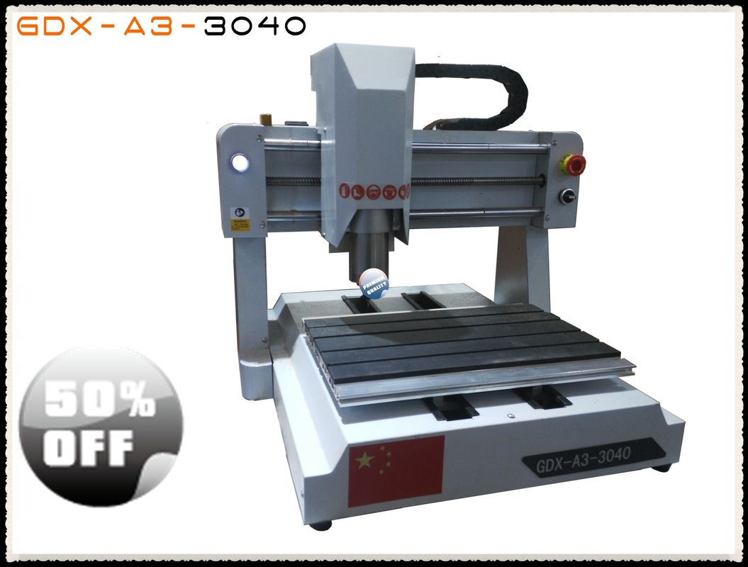 Small CNC Router Machine For Wood Engraving , Benchtop CNC Router High Speed