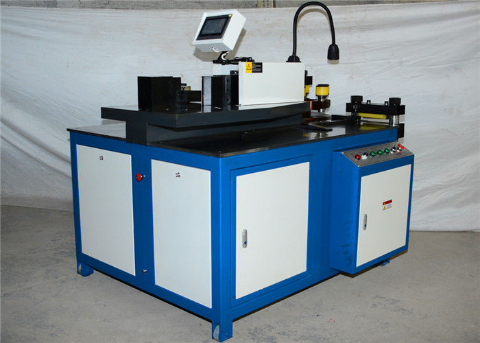 Copper CNC Busbar Bending Machine , Industrial Hydraulic Busbar Bending Machine