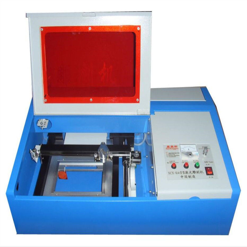 S3020 30x20cm mini laser cutting machine for engraving stamp and non metal