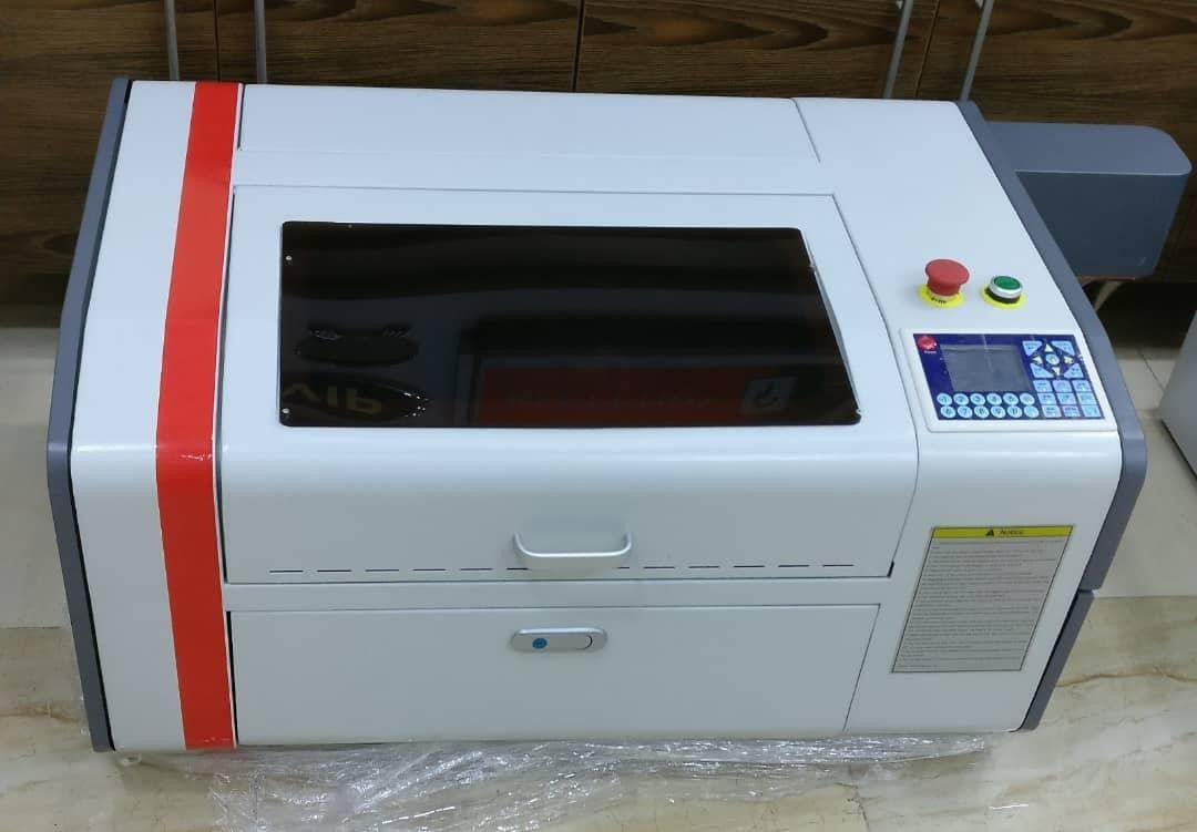 S500 500x300mm Small Laser Engraving Machine For Mdf / Paper / Rubber / Cloth